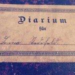 diarium 150x150 - Einblick: Diarium aus der Kaiserzeit