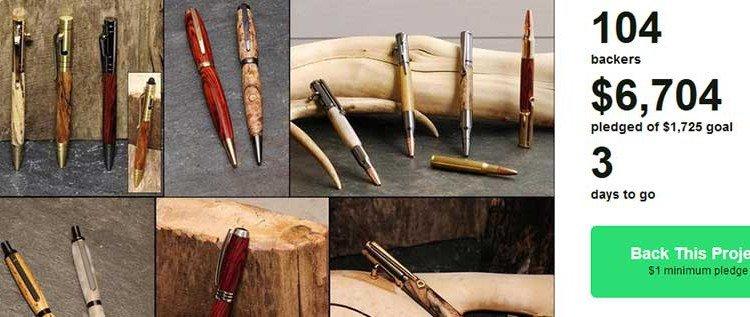 """Addicted to Pens"" – Kickstarter Kampagne"