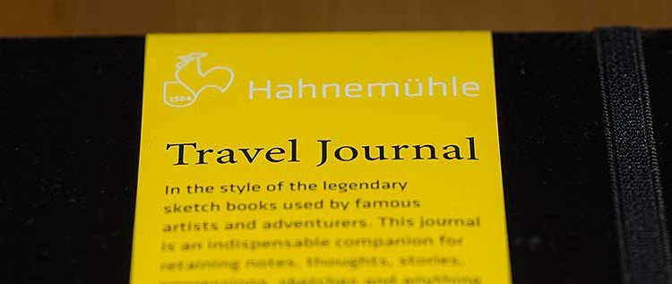 Im Test: Hahnemühle Travel Journal