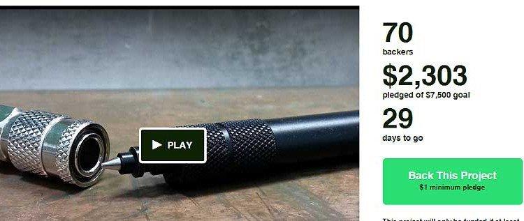 """Der Stift am Schlüsselbund: """"QDC Mini Pen"""" – Kickstarter Kampagne"""