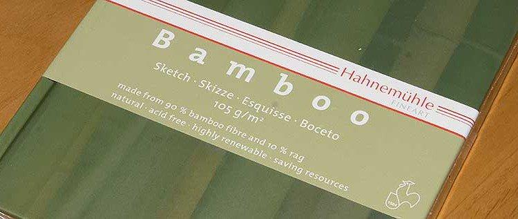 Im Test: Hahnemühle Bamboo Skizzenbuch
