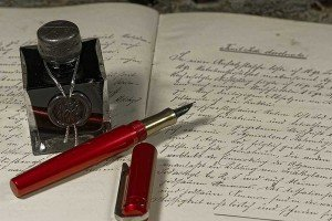 ink - in altem Notizbuch