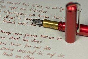 ink - Schriftbeispiel