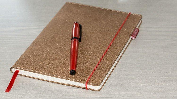 senseBook – Notizbuch in Leder, einmal anders