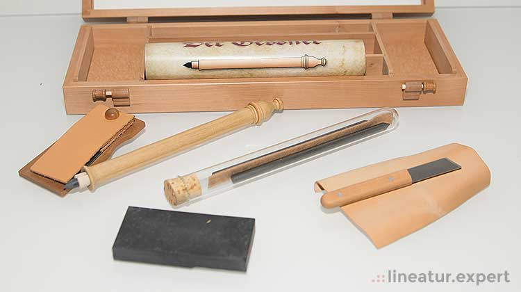 gessner ausgepackt - Der Universalgelehrte und der Bleistift - Der Gessner Bleistift