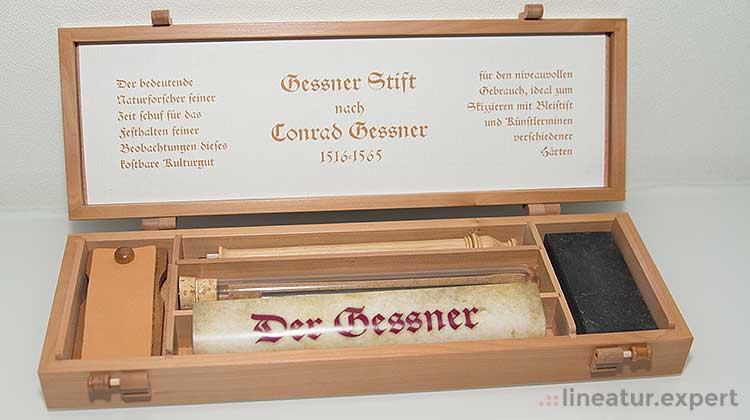 gessner schatulle - Der Universalgelehrte und der Bleistift - Der Gessner Bleistift