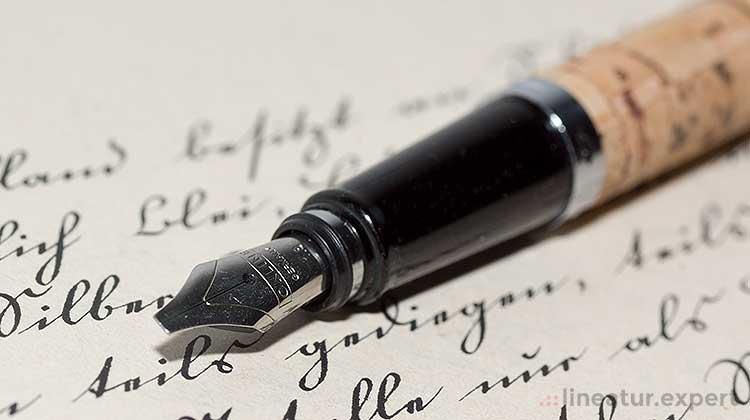 Kalligraphie mit dem Online Kalligrafie-Set