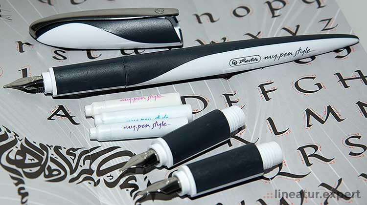 Kalligraphie mit dem herlitz my.pen style