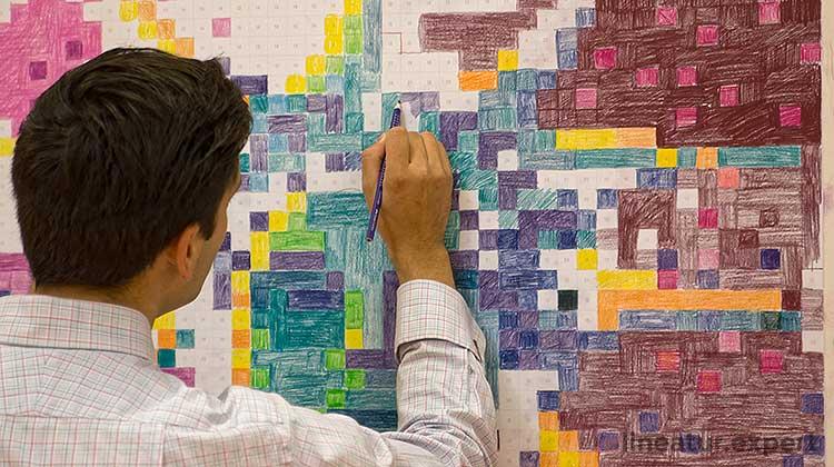 Faber-Castell Pixel-It Malwand
