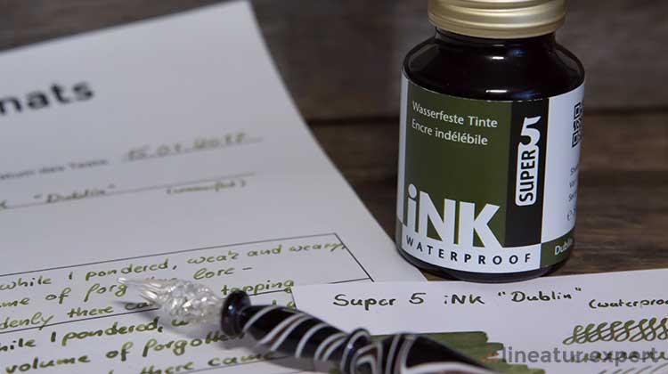 """Super5 iNK """"Dublin"""" – Tinte des Monats"""