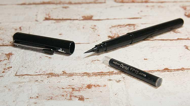 pentel pbp patrone - Kalligraphie mit dem Pentel Pocket Brush Pen GFKP3