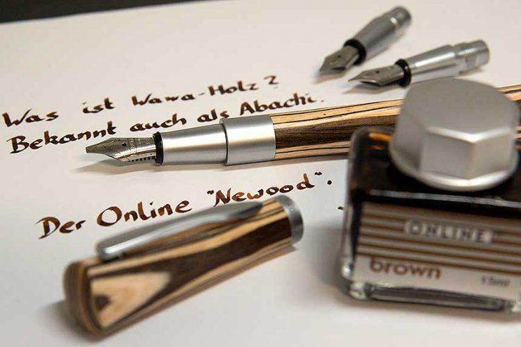 "online newood wawa holz 750x500 - Das Online ""Newood"" Kalligrafie-Set"