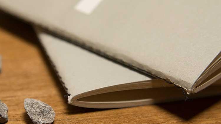 ps fadenheftung - Public Supply Notizbuch – Praktisch für unterwegs