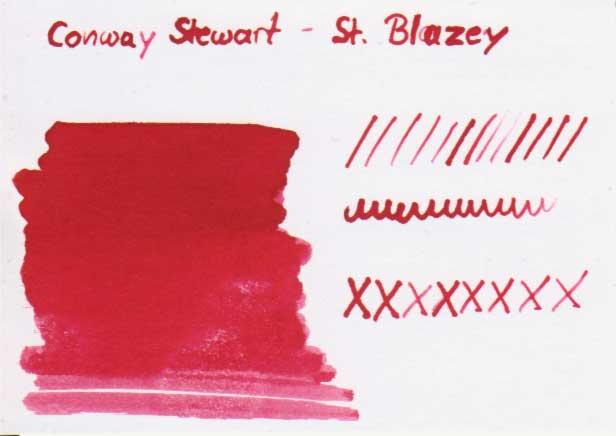 conway stewart tdm karte - Conway Stewart – St. Blazey - Tinte des Monats
