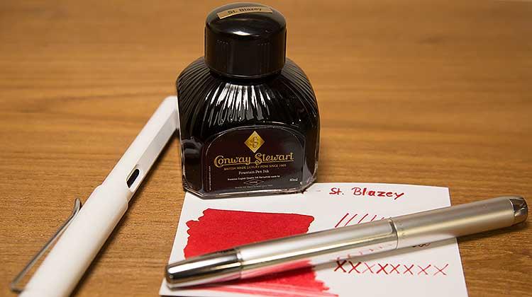 Conway Stewart – St. Blazey – Tinte des Monats