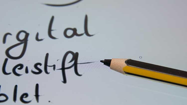 staedtler noris digital spitze - Der Bleistift wird digital - Der Staedtler Noris digital