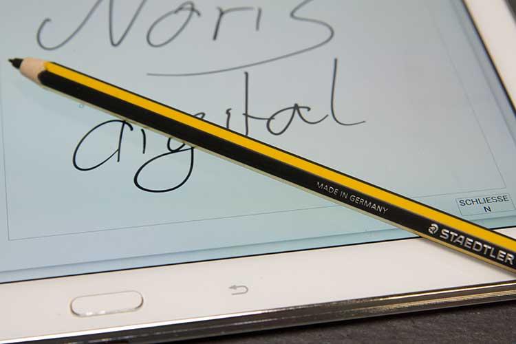 staedtler noris tablet - Der Bleistift wird digital - Der Staedtler Noris digital