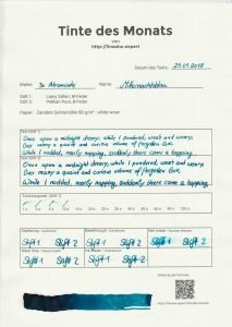 tdm mitternachtsblau formular 213x300 - De Atramentis – Mitternachtsblau – Tinte des Monats