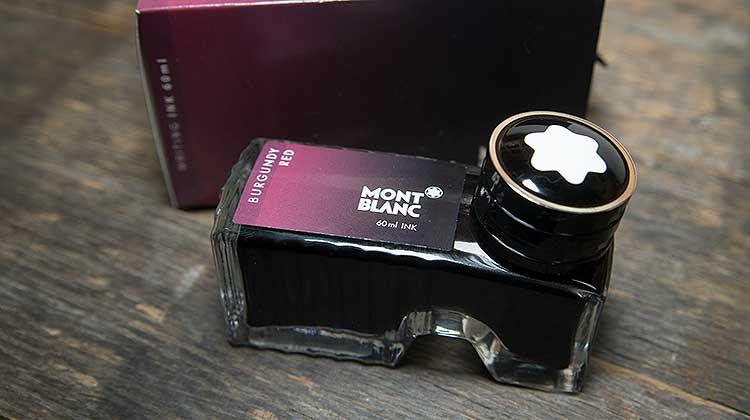 Montblanc Burgundy Red – Tinte des Monats