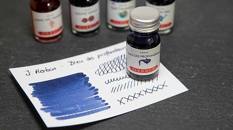 J. Herbin – Bleu des profondeurs – Tinte des Monats