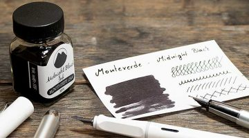 midnight black monteverde 360x200 - Monteverde - Midnight Black | Tinte des Monats
