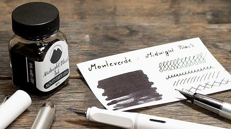 Monteverde – Midnight Black | Tinte des Monats