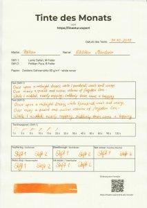 pelikan edelstein mandarin tdm 213x300 - Pelikan Edelstein Mandarin - Tinte des Monats