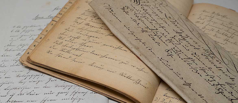 alte handschriften 1170 - Internationaler Tag der Handschrift