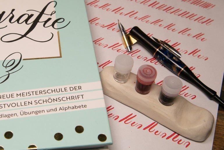 kalligrafie1 770x515 - Moderne Kalligrafie von A bis Z - von Natascha Safarik
