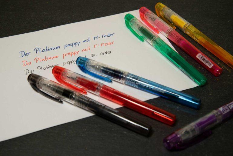 platinum preppy 770x515 - Der Platinum preppy – ein günstiger Füller aus Japan