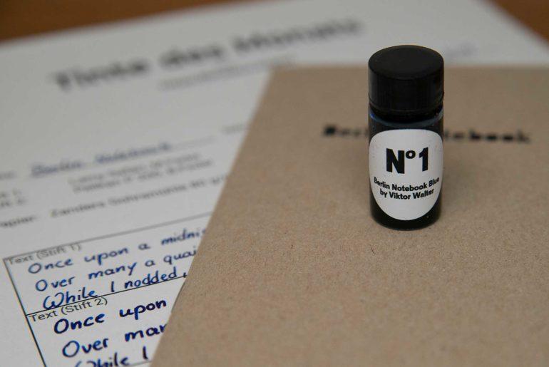 berlin notebook blue 770x515 - Berlin Notebook Nº 1 - Tinte des Monats