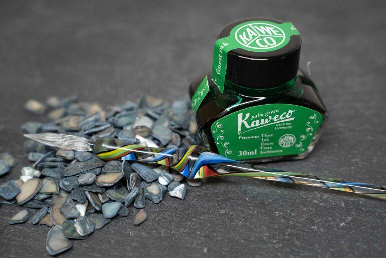 kaweco palmengruen tdm 770x515 - Die Kaweco Palmengrün - Tinte des Monats