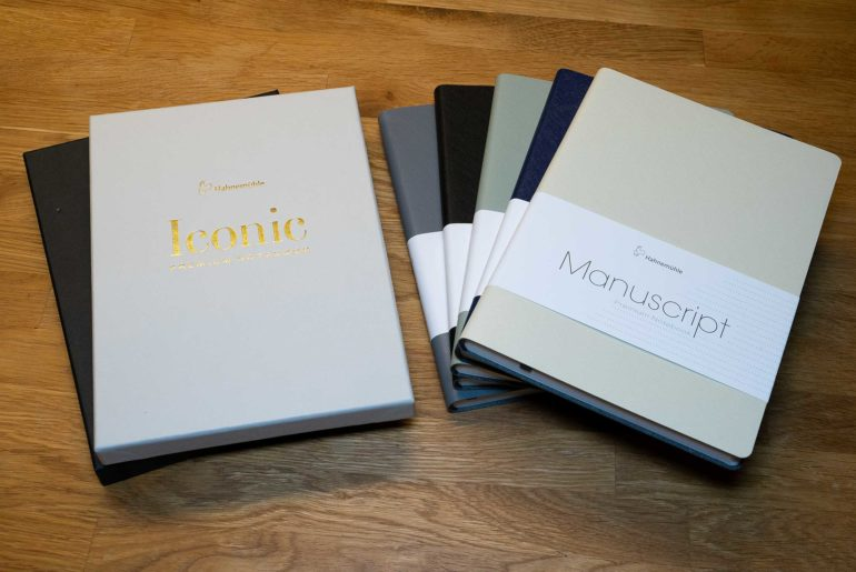 hahnemuehle finenotes notizbuecher 770x515 - Hahnemühle FineNotes - Manuscript und Iconic